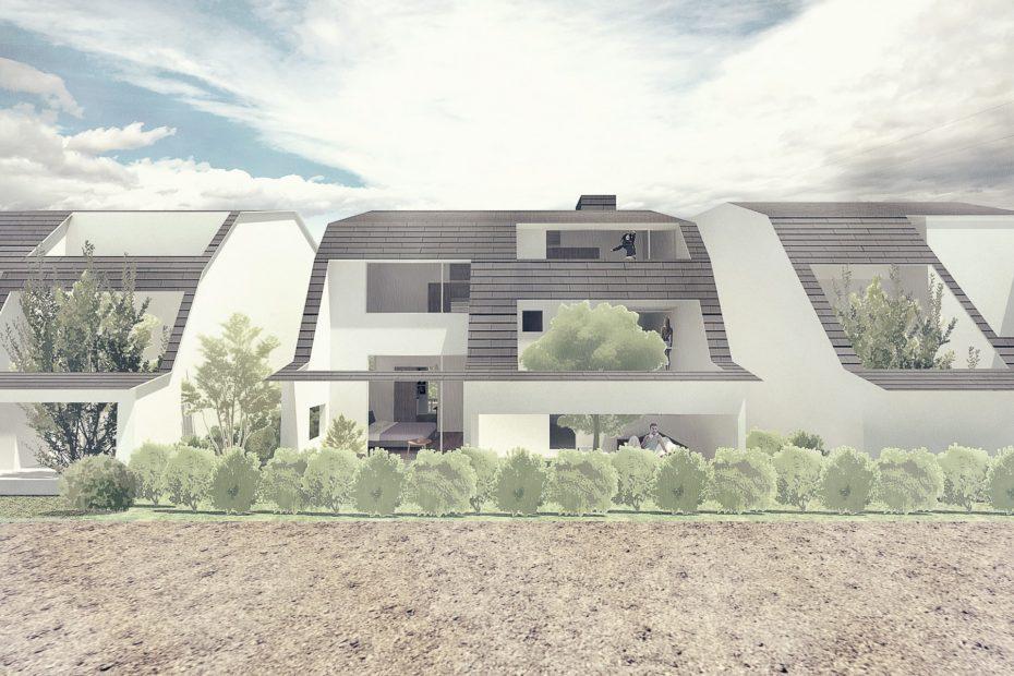 gambrel-facade